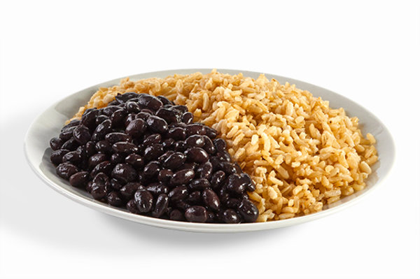 Brown Rice & Black Beans