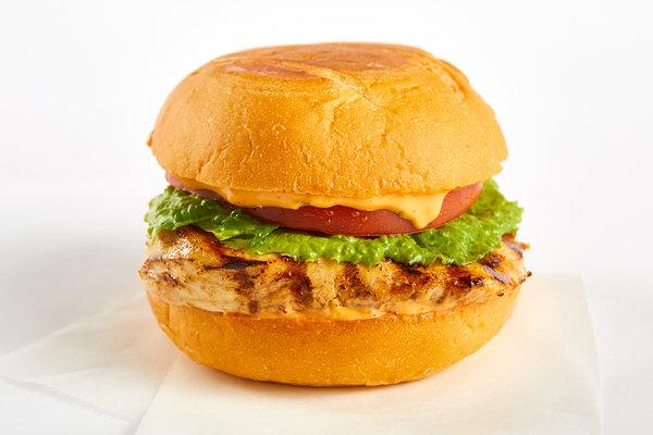 Grilled Chipotle Chicken Sandwich