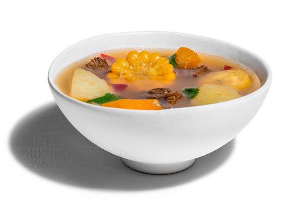 Beef Sancoho Soup