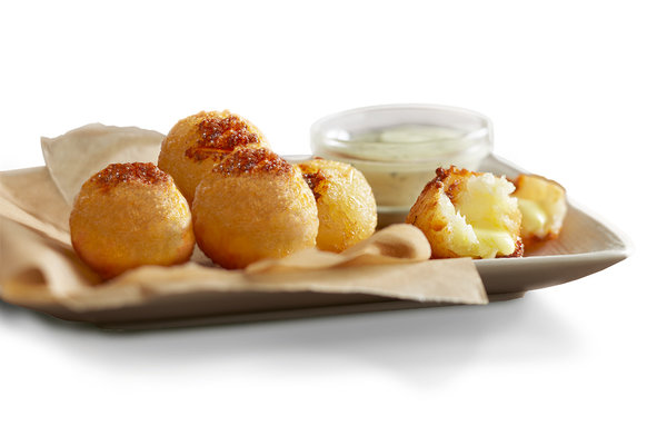 Cheesy Yuca Bites