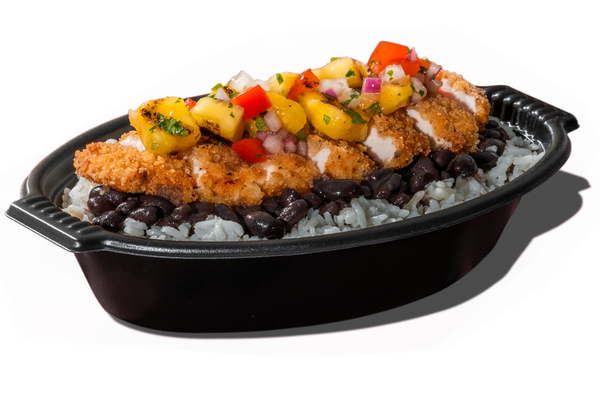 Crispy Chicken with Pineapple Salsa Tropichop®
