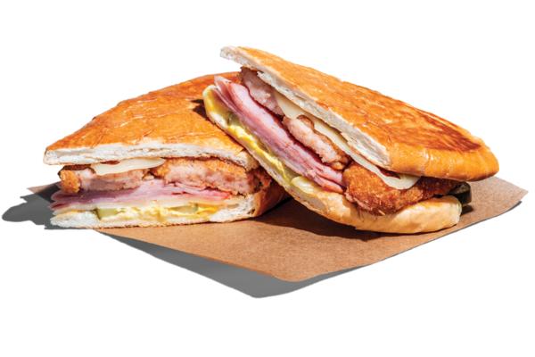 Croqueta Preparada / Ham Croquette Sandwic