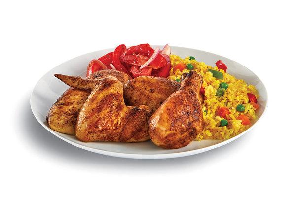 Half Chicken Platter no Broc