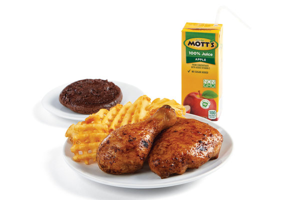 Kidsmeal Bonein Waffle Fries