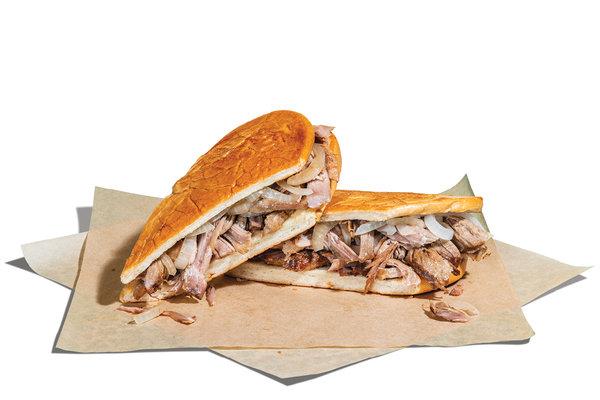 Pan con Lechón (Mojo Roast Pork) Sandwich