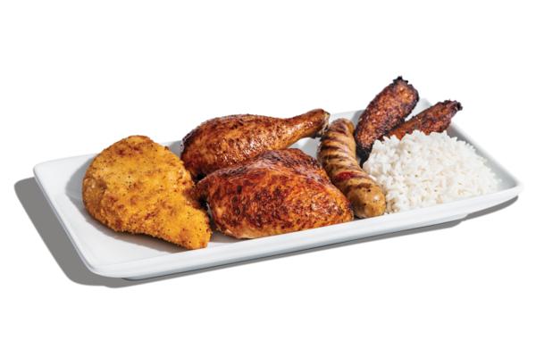 Pollo Trio with Crispy Chicken
