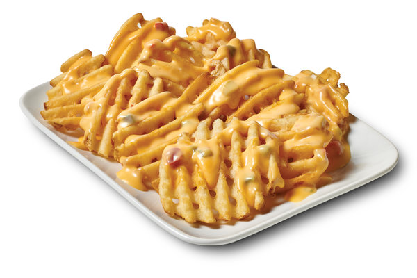 Queso Waffle Fries