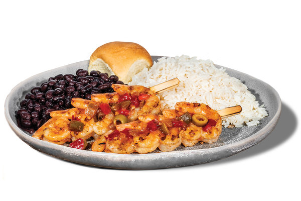 Shrimp Creole Platter