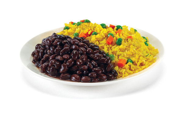 Yellow Rice & Black Beans