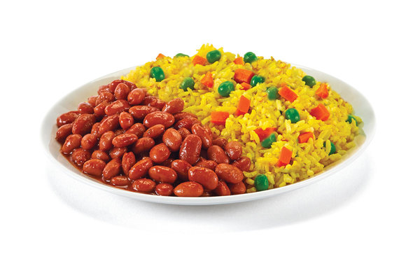 Yellow Rice & Red Beans